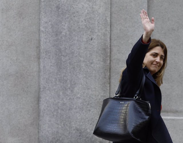 Marta Pascal arriba al Suprem a declarar pel procés