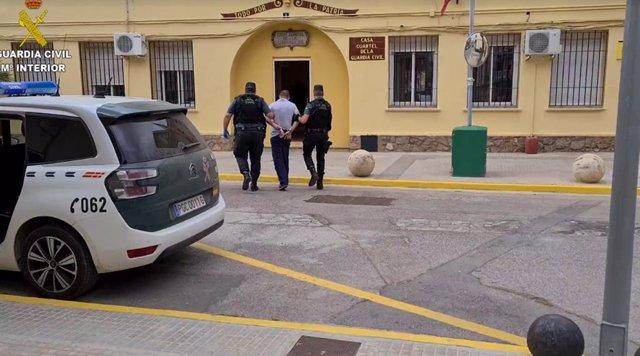 El detenido en Sagunto
