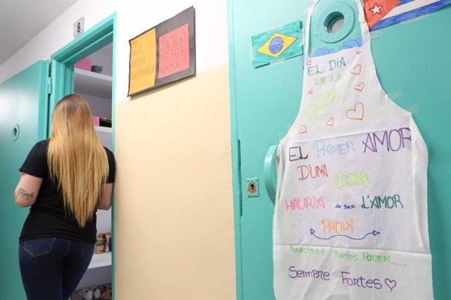 Módulo pionero con visión feminista para menores reclusas en el centro de justicia juvenil Els Til·lers de Mollet del Vallès (Barcelona)