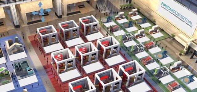 Imatge promocional de la FiraCampusVirtual, que reemplaça el Saló de l'Ensenyament i el Saló Futura en la difusió de carreres universitàries, graus d'FP i màsters