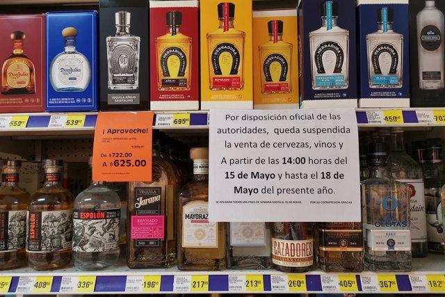 Restriccions a la venda d'alcohol a Mxic