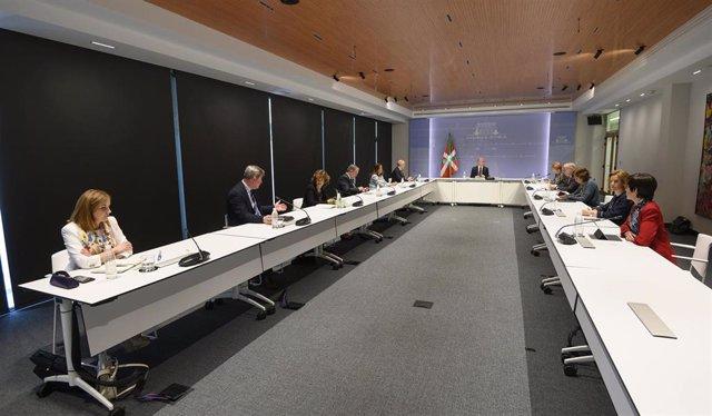 Consejo de Gobierno Extraordinario presidido por el Lehendakari, Iñigo Urkullu