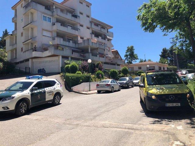 AMP2.- Detenido un hombre por matar a su padre en una vivienda de Collado Villal