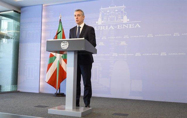 El Lehendakari, Iñigo Urkullu, ha convocado las elecciones al Parlamento Vasco para el próximo 12 de julio