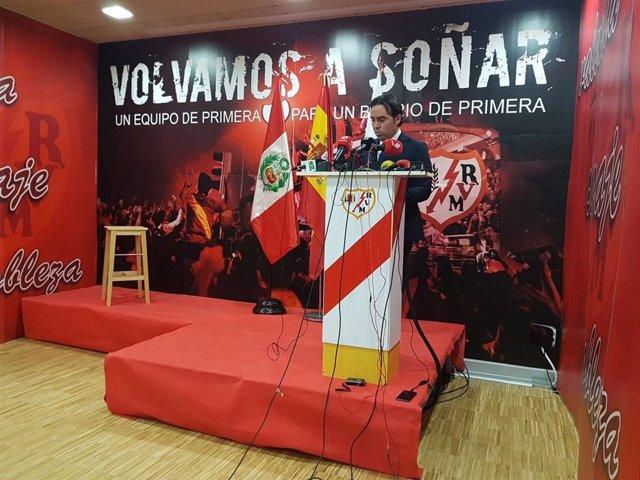 Fútbol.- AFE denuncia que Martín Presa lleva dos meses y medio sin hablar con la