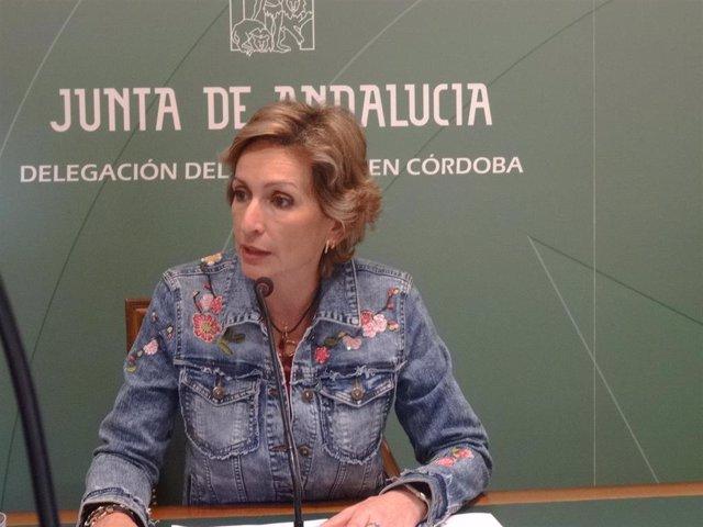 La delegada de Igualdad, Políticas Sociales y Conciliación de la Junta de Andalucía en Córdoba, Inmaculada Troncoso.
