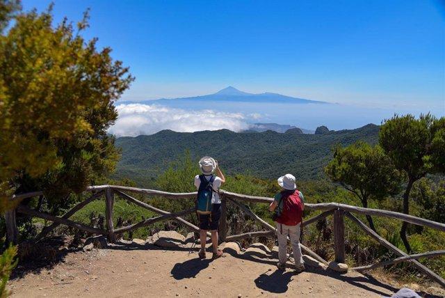 Turistas en La Gomera