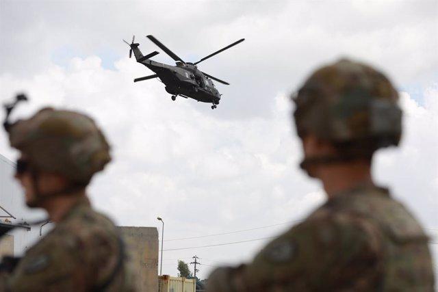 Irak.- La coalición bombardea una decena de objetivos de Estado Islámico en Kirk