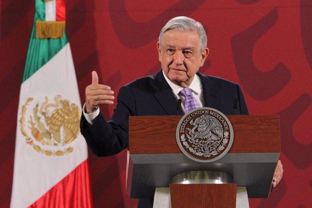 "Coronavirus.- López Obrador asegura que ""falta muy poco"" para ""domar"" la pandemi"