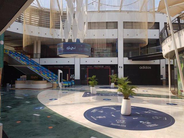 Centro comercial Islazul adaptado para la reapertura tras el Covid-19