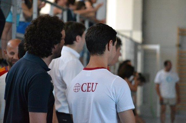 Imagen de archivo de un actividad deportiva en CEU Andalucía.