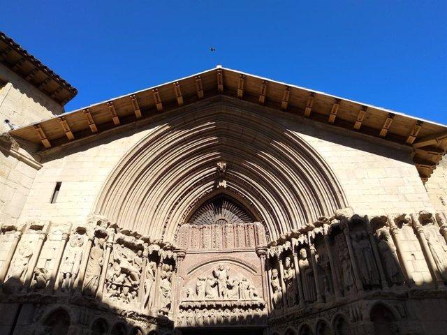 Finalizacion de las obras en la iglesia de San Bartolomé de Logroño