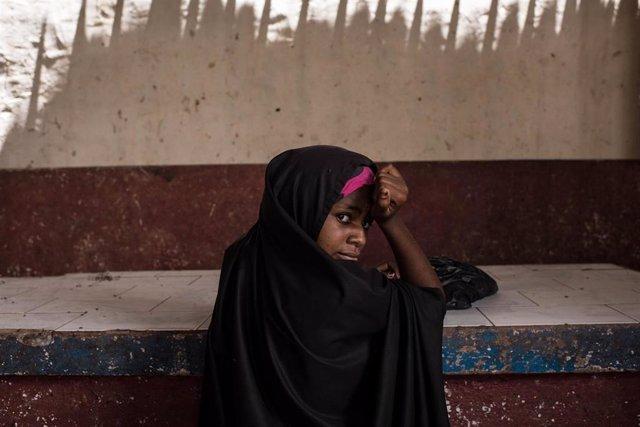 Una niña en Somalia