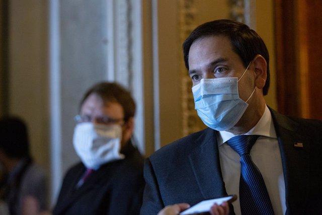 EEUU.- Marco Rubio, elegido presidente interino de la Comisión de Inteligencia d