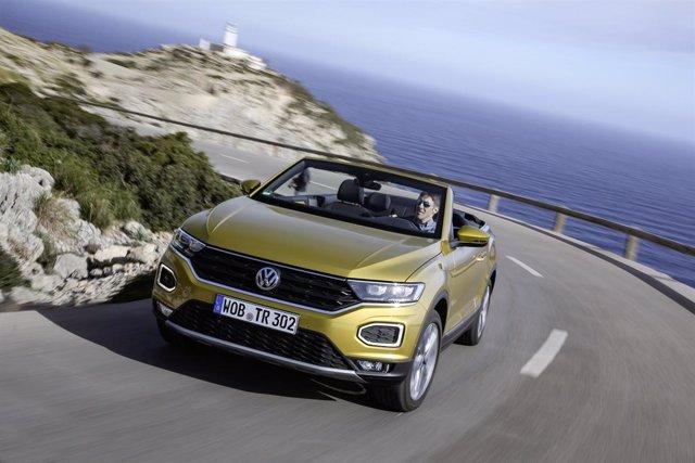 Volkswagen T-Roc descapotable.