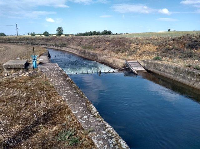 Rampa del Canal de Arriola, en la provincia de León.