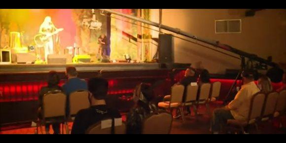 7. VÍDEO: Así fue el primer concierto con aforo reducido y distanciamiento social en Estados Unidos