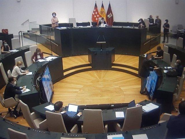 Comisión de Hacienda y Personal y de Economía, Innovación y Empleo del Ayuntamiento de Madrid