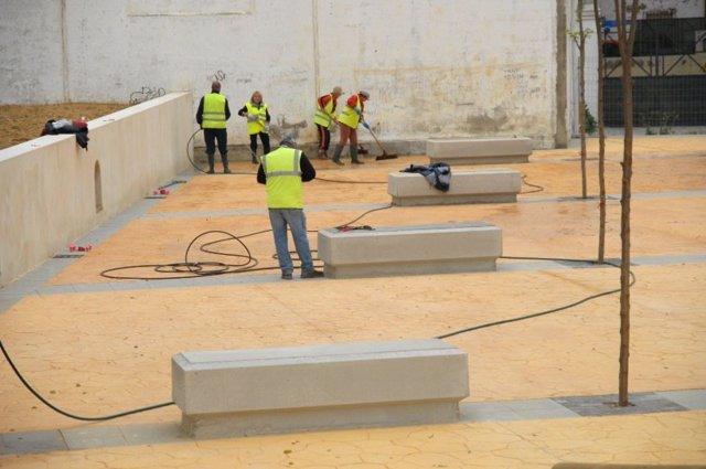 Jaén.- La Junta concede más de siete millones de euros para obras del Plan de Empleo Agrario en Jaén