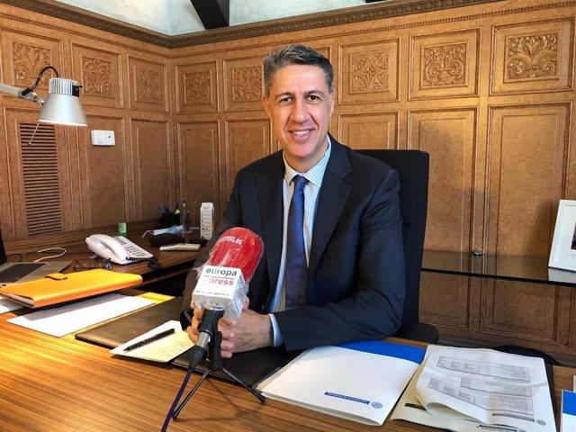 L'alcalde de Badalona, Xavier García Albiol, es reunirà amb l'oposició per arribar a un pacte municipal contra el Covid-19