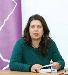 Lidia Montero, candidata a la Secretaría General de Podem