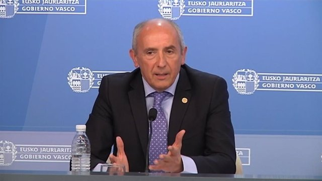 El portavoz del Gobierno Vasco, Josu Erkoreka.