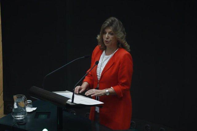 Imagen recurso de la delegada de Hacienda en el Ayuntamiento de Madrid, Engracia Hidalgo.