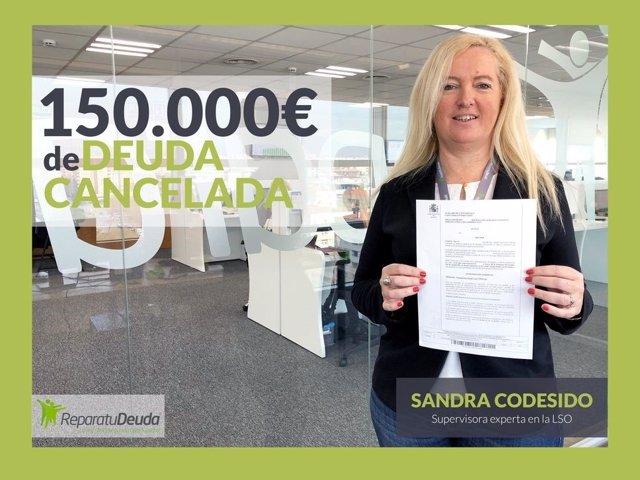 COMUNICADO: Repara tu deuda Abogados cancela 150.000 € de deuda con la Ley de la
