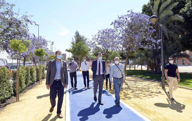 Abre al público el jardín Maestro Ibarra de Murcia, con cerca de 6.000 metros cuadrados de espacios
