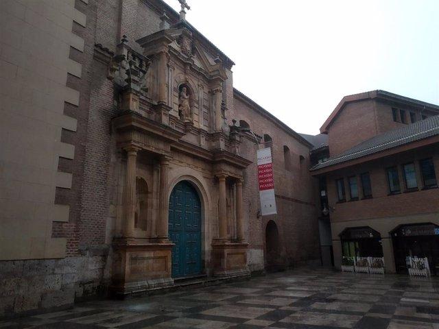 La sala de Exposiciones de la Iglesia de las Francesas, en Valladolid.