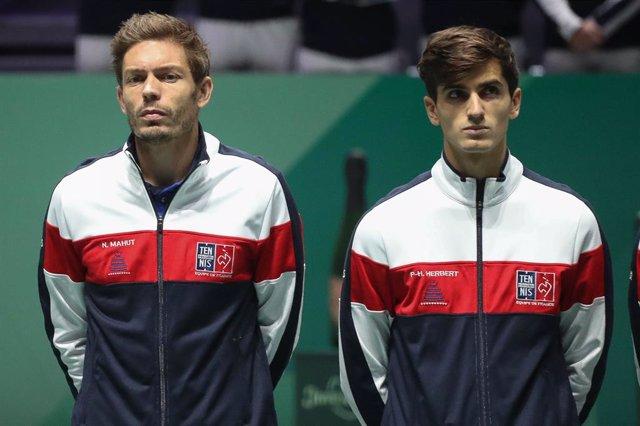 """Tenis.- Nicolas Mahut: """"Quizás a Piqué le convenga que no haya Copa Davis, perdi"""