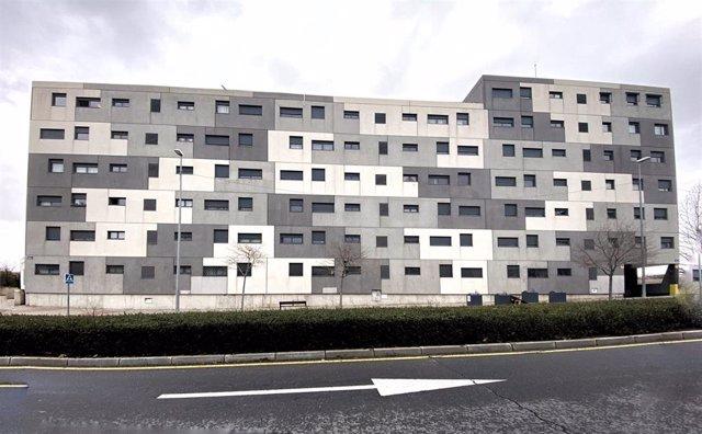 Edificio de viviendas en Madrid.