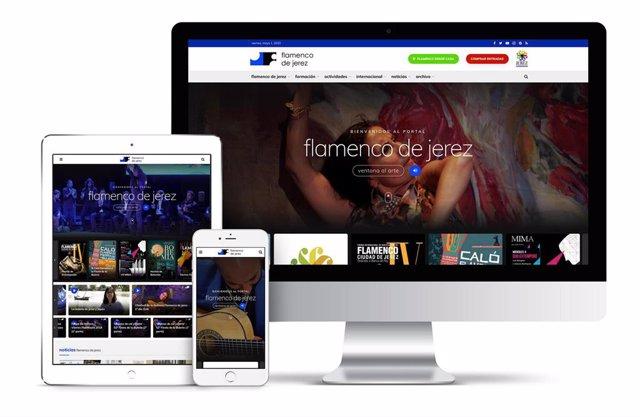 Nueva página web de Flamenco de Jerez
