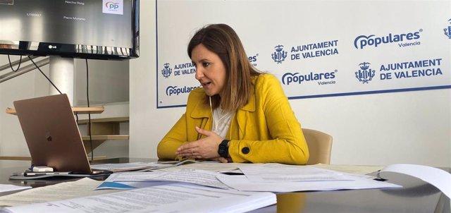 La portavoz del PP en el Ayuntamiento de València, María José Catalá.