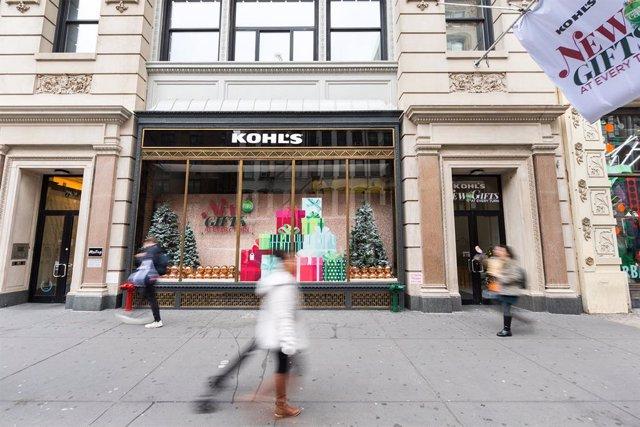 EEUU.- Los grandes almacenes Kohl's entran en pérdidas tras hundirse un 41% la f