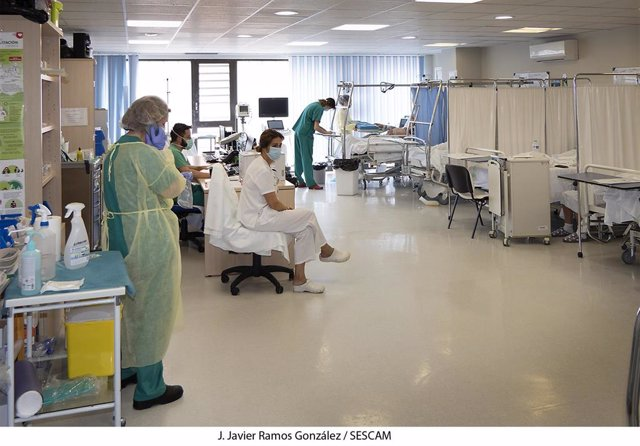 Pacientes, sanitarios, COVID19, coronavirus,