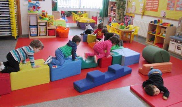 Niños durante una actividad en una escuela infantil andaluza.
