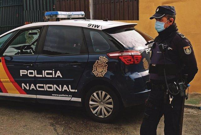 Agente de Policía Nacional en una imagen de archivo.