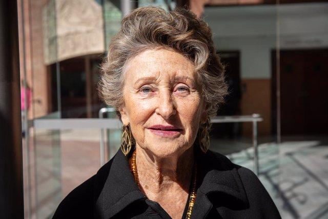 La presidenta del Palau de la Música, Mariona Carulla, participa en la presentació de la temporada de Palau 100 (arxiu)