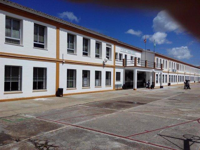 Uno de los centros escolares de la provincia de Huelva