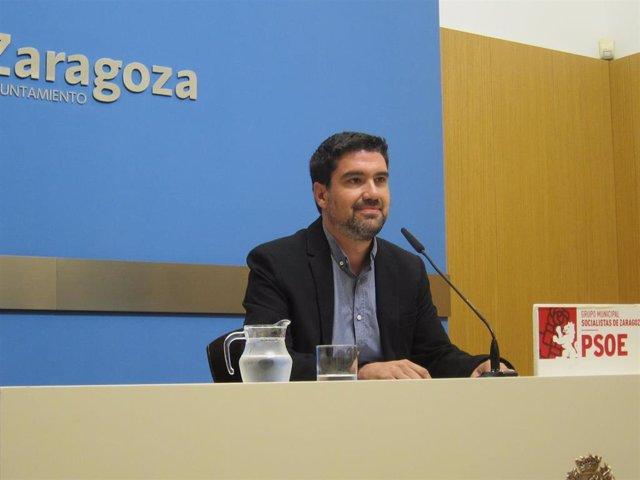 Horacio Royo, concejal del PSOE en el Ayuntramiento de Zaragoza