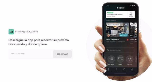 Descarg la app de Booksy para reservas tus citas
