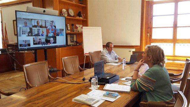 Reunión del Grupo Asesor de Economía Covid-19 centrada en la afección en el empleo.