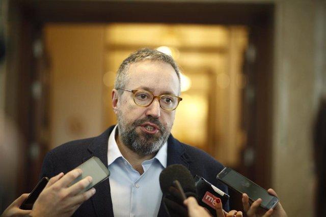 El exportavoz de Ciudadanos en el Congreso de los Diputados Juan Carlos Girauta.