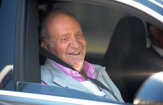 El Rey Juan Carlos, en una foto de archivo de Europa Press