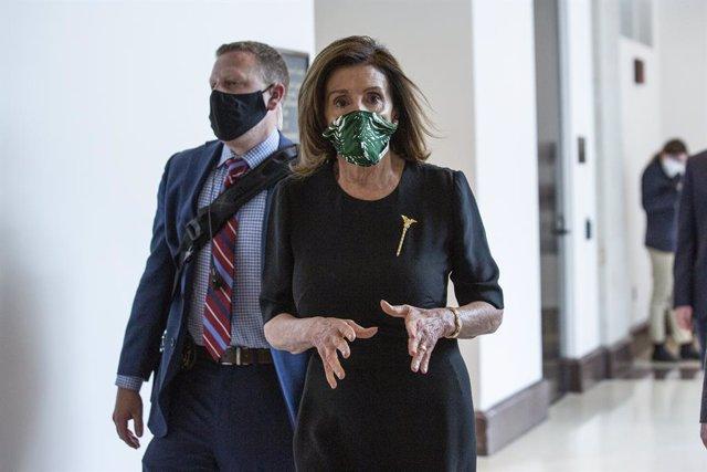 """Coronavirus.- Pelosi cree que """"no es una buena idea"""" que Trump tome hidroxicloro"""
