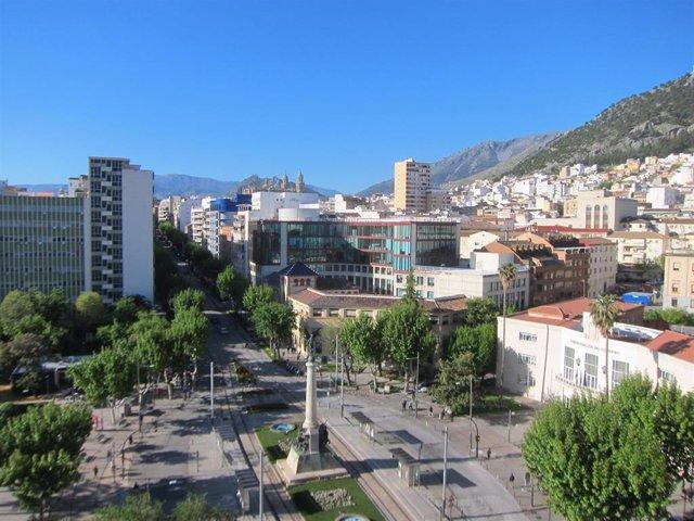 Vista del Paseo de la Estación
