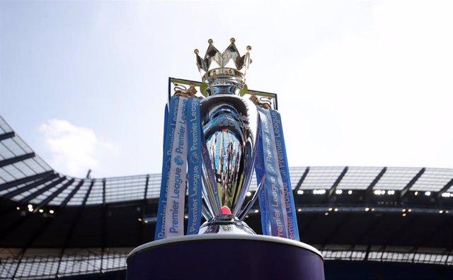 Imagen del trofeo de campeón de la Premier League