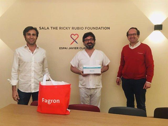 Acuerdo entre la Ricky Rubio Foundation y Fagron Foundation para combatir el coronavirus