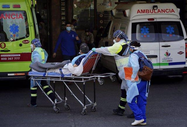 Hospital de Santiago de Chile durante la pandemia de coronavirus